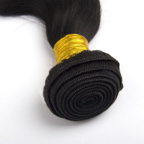 Buy 1 Get 1 Free Body Wavy Brazilian Remy Hair #1 Jet Black