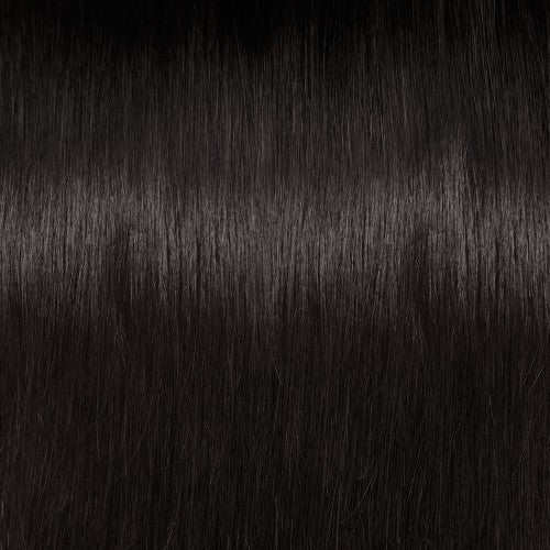 【Regular】	100g 18 Inch #1B Natural Black Straight Clip In Hair