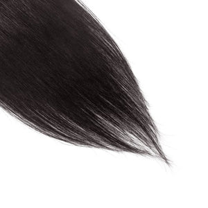 【Volumizer】 70g 16 Inch #1B Natural Black Straight Clip In Hair
