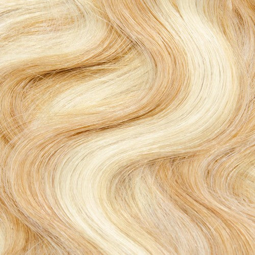 【Regular】	120g 18 Inch #27/613 Body Wavy Clip In Hair
