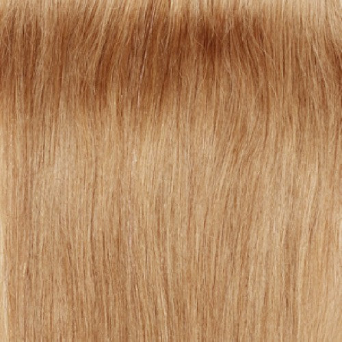 【Super Deluxe】	200g 22 Inch #27 Strawberry Blonde Straight Clip In Hair