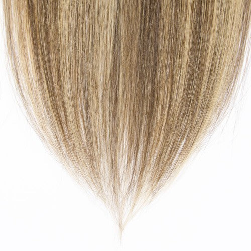【Volumizer】 70g 16 Inch #4/27 Straight Clip In Hair
