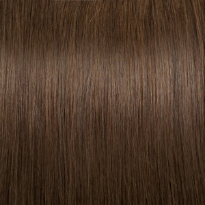 【Regular】	100g 18 Inch #4 Chocolate Brown Straight Clip In Hair