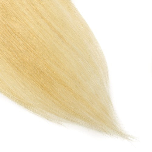 【Volumizer】 70g 16 Inch #613 Lightest Blonde Straight Clip In Hair