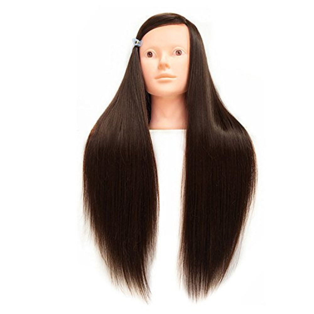 26inch Human Hair Hairdressing Cosmetology Mannequin