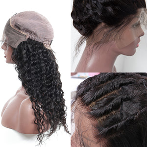 【NEW IN】Pre-Plucked 250% Density Human Hair Deep Curly Lace Front Wigs