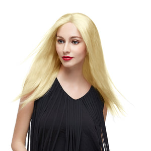 "18"" #24 Sandy Blonde Brazilian Virgin Straight Full Lace Wig"