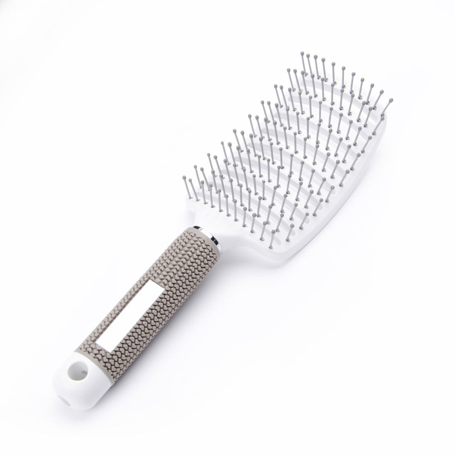 White Plastic Hair Brush 26cm