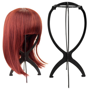 6PCS Portable Wig Stand Black & Four Color Option HT19