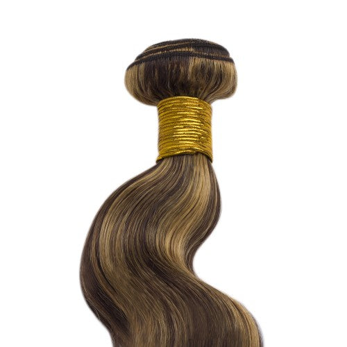 100g Body Wavy Indian Remy Hair #4/27