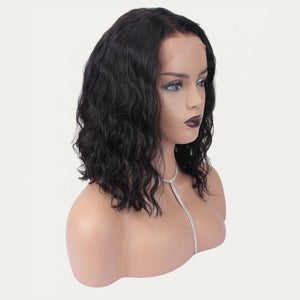 HD Undetectable Transparent Body Wavy Lace Front Wig
