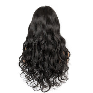 [NEW IN]Easiest Transparent No Baby Hair Body Wavy Lace Front Wig