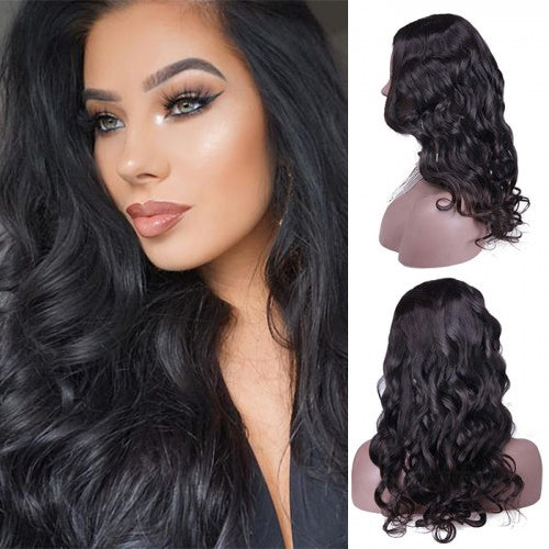 24 Inch Body Wavy Indian Remy Hair U part Wigs PWU28