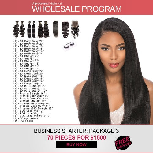 Start Hair Business for $1500 Wholesale Package 4