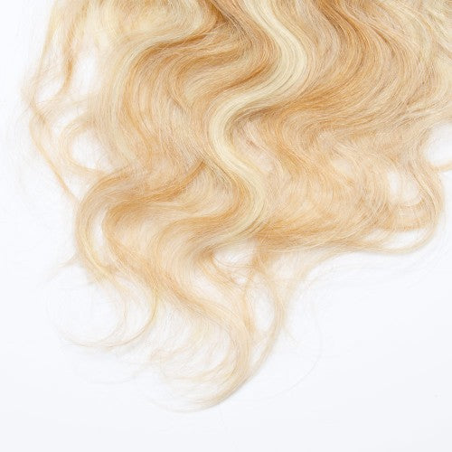 【Super Deluxe】	200g 22 Inch #27/613 Body Wavy Clip In Hair