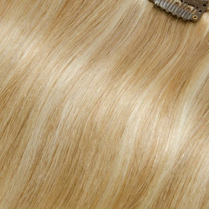 【Regular】	100g 18 Inch #27/613 Straight Clip In Hair