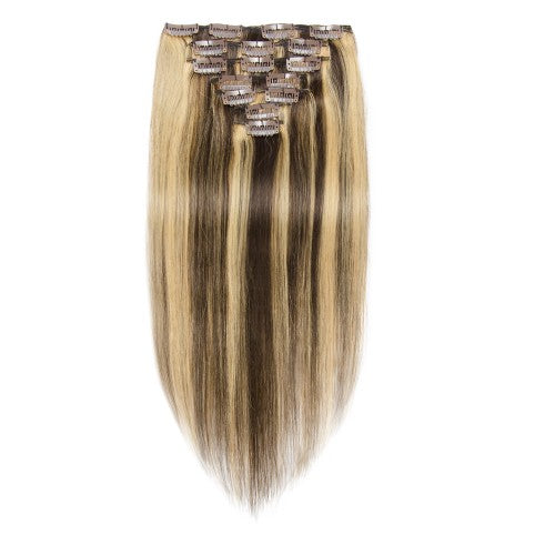 [Regular] 100g 18 Inch #4/27 Straight Clip In Hair