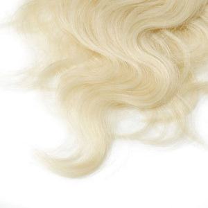 【Regular】	100g 18 Inch #60 Platium Blonde Body Wavy Clip In Hair