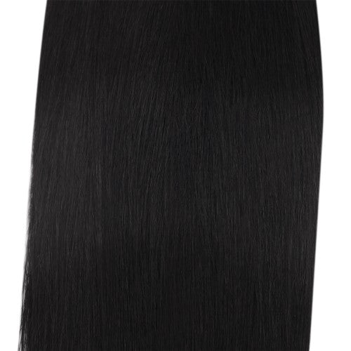 100g Straight Indian Remy Hair #1 Jet Black