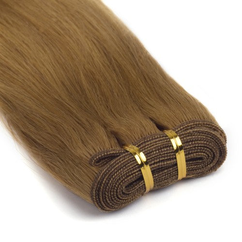 100g Straight Indian Remy Hair #27 Strawberry Blonde