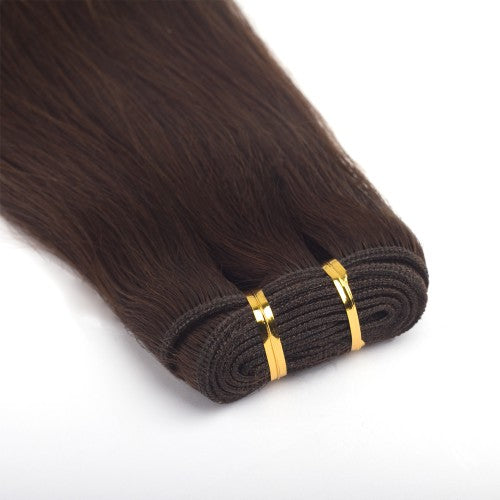 100g Straight Indian Remy Hair #4 Chocolate Brown
