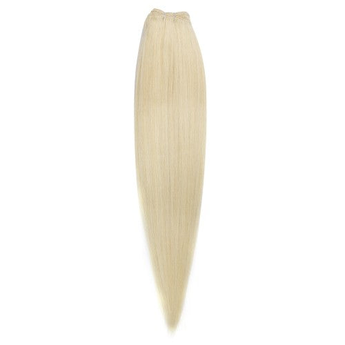 100g Straight Indian Remy Hair #60 Platium Blonde