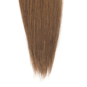 100g Straight Indian Remy Hair #8 Light Brown