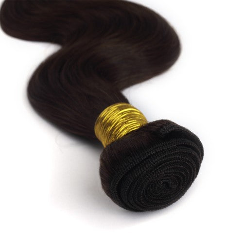 100g Body Wavy Indian Remy Hair #4 Chocolate Brown