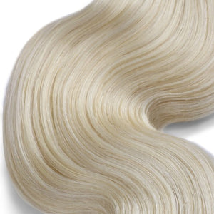 100g Body Wavy Indian Remy Hair #613 Lightest Blonde