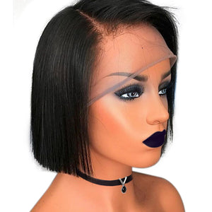 Beginners Friendly Short Cut Straight Bob Wig