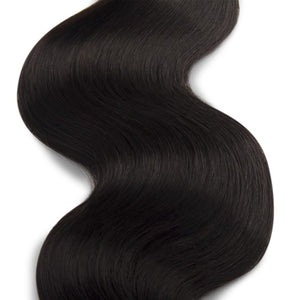 100g Body Wavy Indian Remy Hair #1B Natural Black
