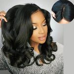 360 Lace Frontal Wig 150% Density Body Wavy Brazilian Virgin Hair