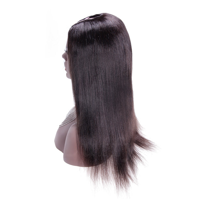 28 Inch Yaki Indian Remy Hair U part Wigs PWU25