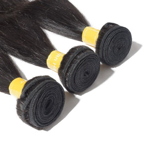 【Platinum 8A】Virgin Indian Hair Straight 4 Bundles