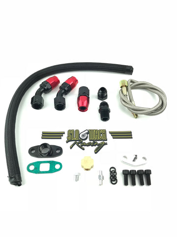 T4 oil feed & return kit