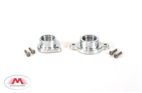 Motion Coyote Ford Billet Water Pump to AN Adaptor Combo Kit