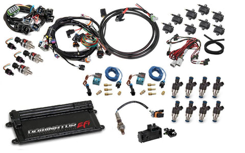 Dominator LS1 OR LS6 EFI KIT (120LB INJECTORS) (BOSCH SENSOR)