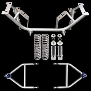 UPR 96-04 Mustang Chrome Moly K Member & Adj A Arm Kit
