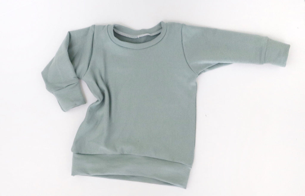 Seafoam Bamboo Sweater