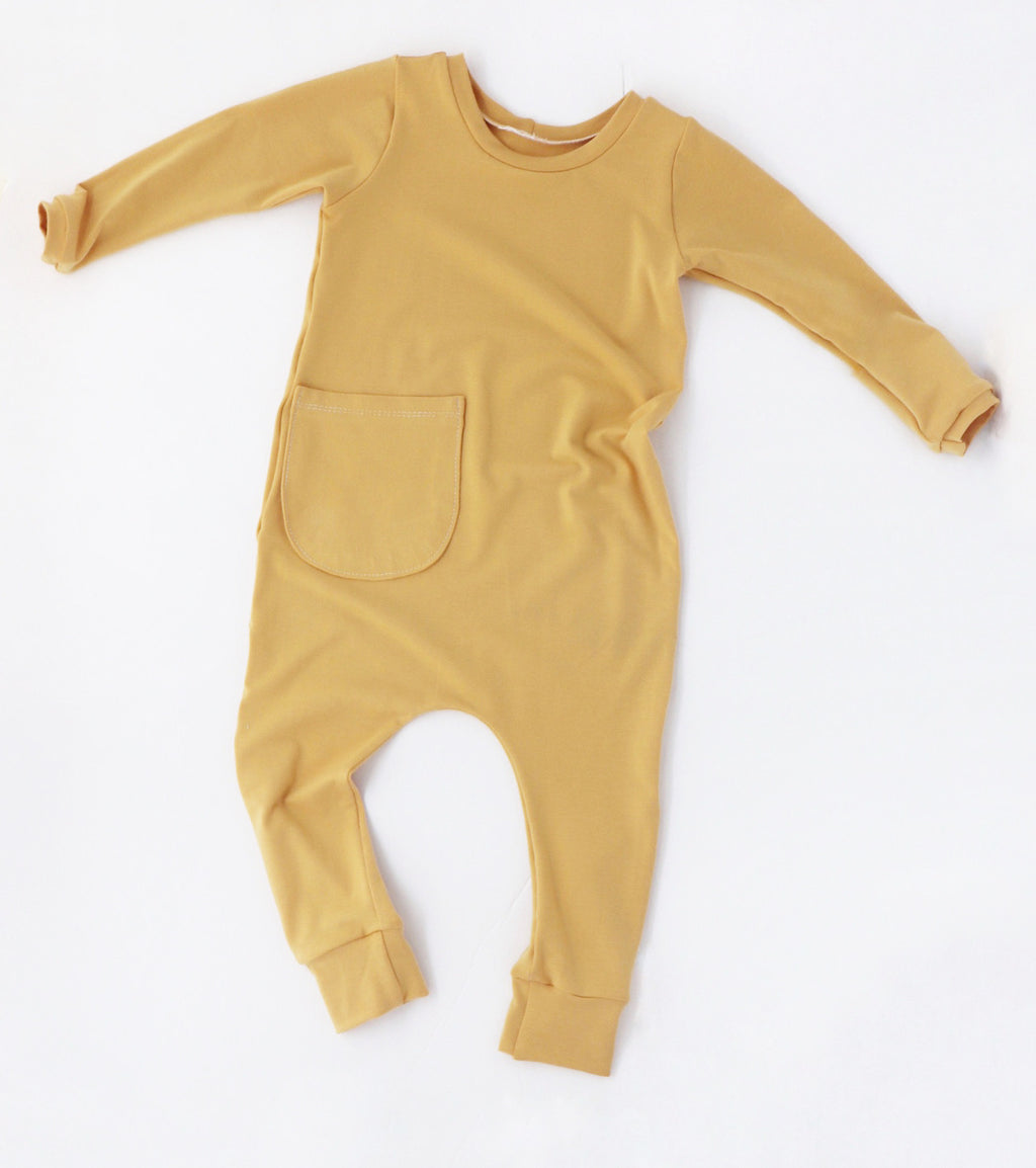 Honey Bean Romper