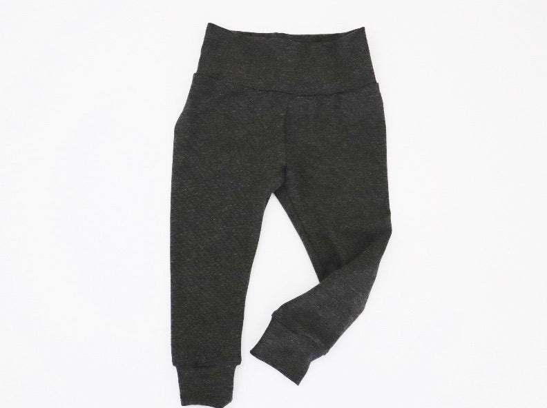 Charcoal Bamboo Jersey Leggings