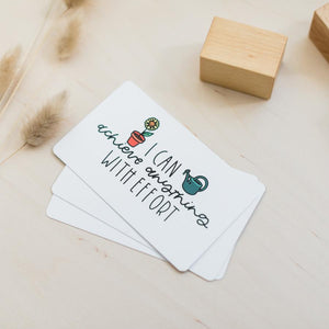 Full deck of 20 Affirmation Cards