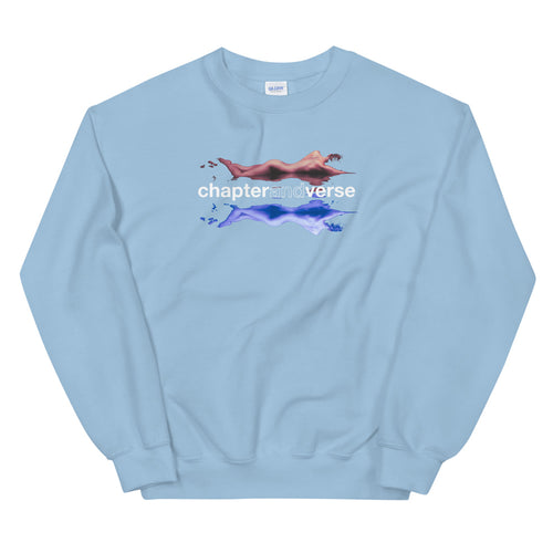 'LOVE & ERROR' Light Blue Sweatshirt