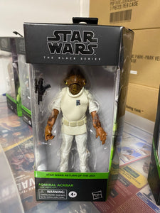 Star Wars Black Admiral Ackbar