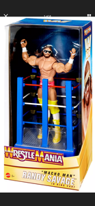 WWE Wrestlemania RANDY MACHO MAN SAVAGE Figure