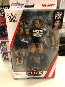 WWE Elite WALMART Exclusive THE ROCK Smackdown 20th Anniversary