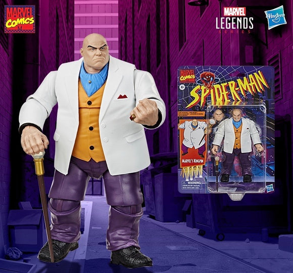 Spider-Man Retro Marvel Legends KINGPIN