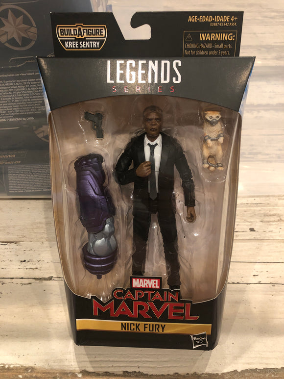 Marvel Legends NICK FURY Captain Marvel Keene Sentry Baf wave