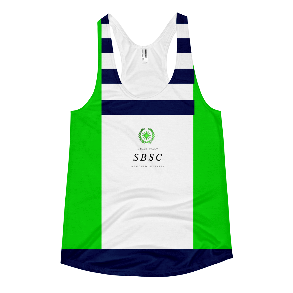 Sea Glass ( Remastered ) Racerback Tank