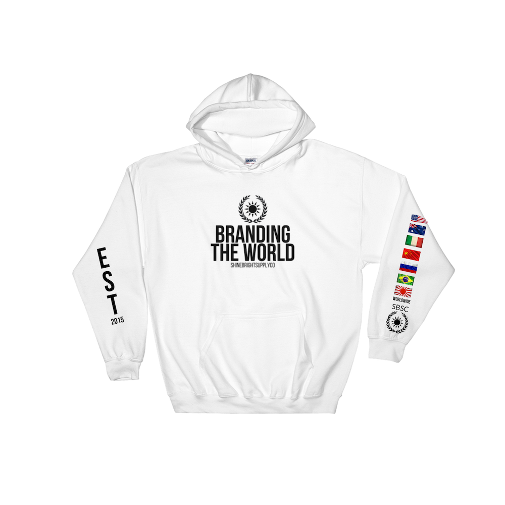 BRANDING THE WORLD ( WHITE LIMITED ED )